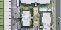 Plaza El Roble - Emplazamiento