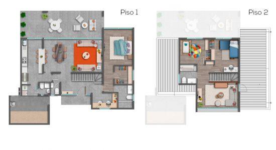 Casa A - 139 - Cond. Las Loicas