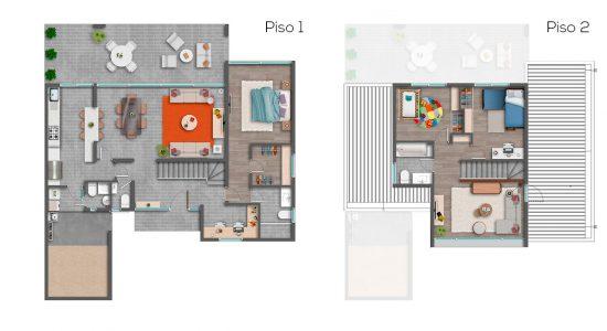 Casa A1 - 139 - Cond. Las Loicas