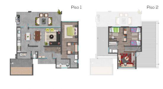Casa B - 127 - Cond. Las Loicas
