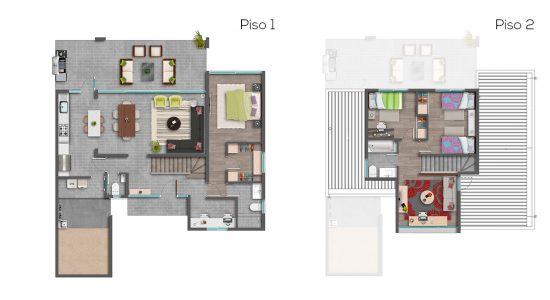 Casa B1 - 127 - Cond. Las Loicas