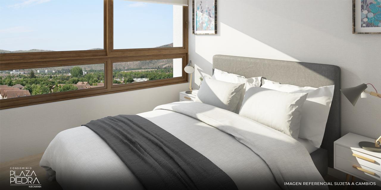 Dormitorio Principal de Tipo Ai1 Condominio Plaza Piedra