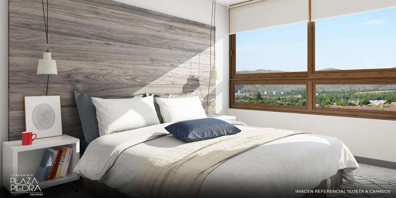 Dormitorio Principal de Tipo Bm de Condominio Plaza Piedra