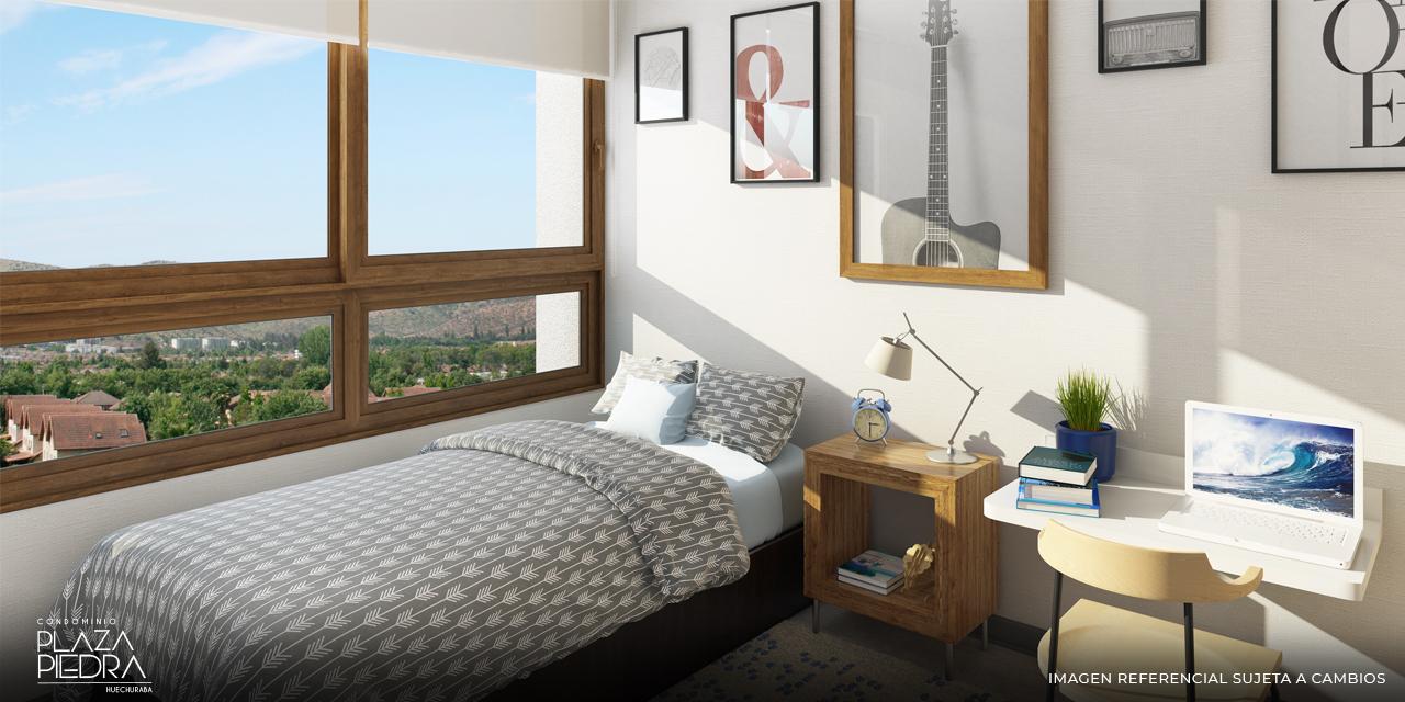 Dormitorio Tipo Bm de Condominio Plaza Piedra