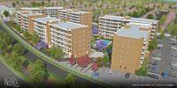 Vista aérea de Condominio Plaza Piedra